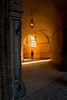 A passageway in the State Castle at Český Krumlov in the Czech Republic.<br /> Photo © Carl Clark