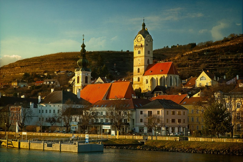 Krems, Austria in the Wachau Valley.<br /> © Cindy Clark
