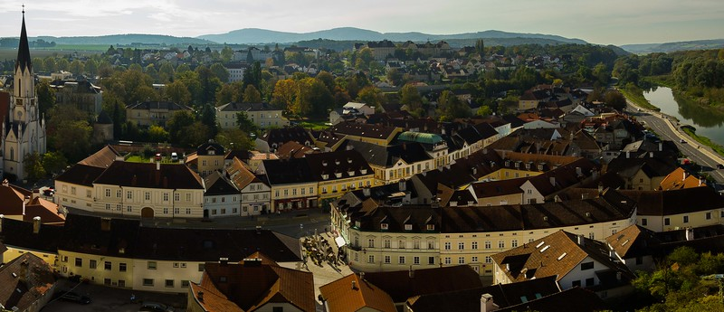 An easy afternoon in Melk, Austria.<br /> Photo © Carl Clark