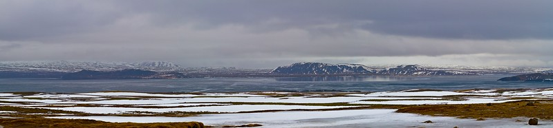 It's March but winter lingers on near the shores of Þingvallavatn.<br /> Photo © Carl Clark