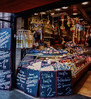 Our hotel was in the Viktualienmarkt area of Munich - a food market & beer garden in the center of town. So many tempting options!<br /> Photo © Cindy Clark