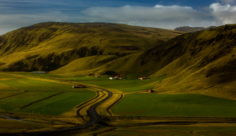 Scenic overlook on our way to Vik, Iceland.<br /> Photo © Cindy Clark