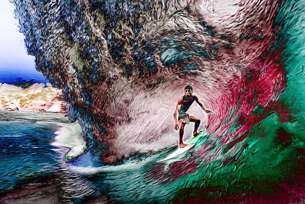 hyper-color art