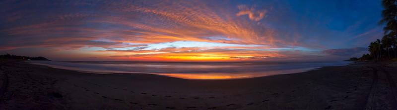9th surfing sunset