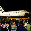 Crowds Waited for Hours to See the Endeavour on its Way to the California Science Center