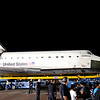 Endeavour at Crenshaw and Martin Luther King Jr Streets in Los Angeles CA