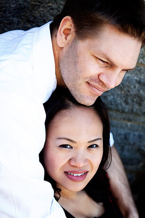 Ngoc Anh and Clint