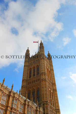 Victoria Tower at The Palace of Westminster
