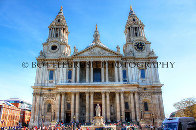 St. Paul's Cathedral, London, England.