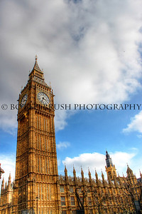 Elizabeth Tower and The Palace of Westminster