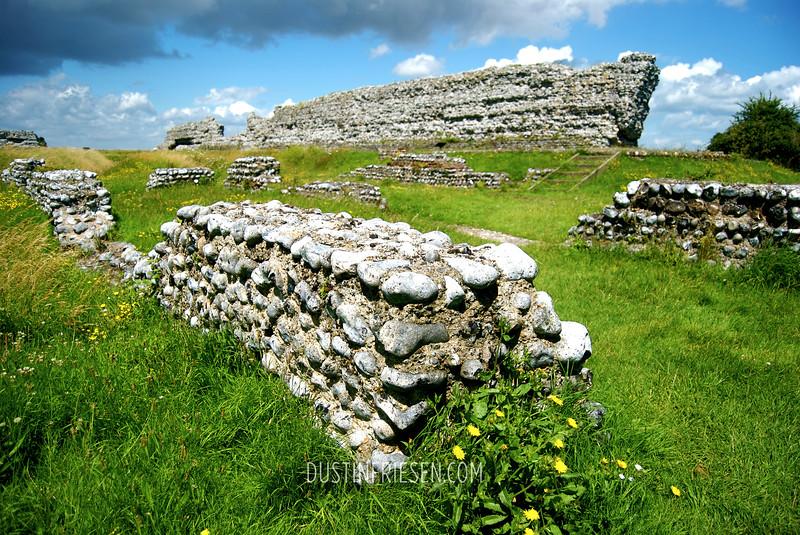 ruins 1st century Roman fort