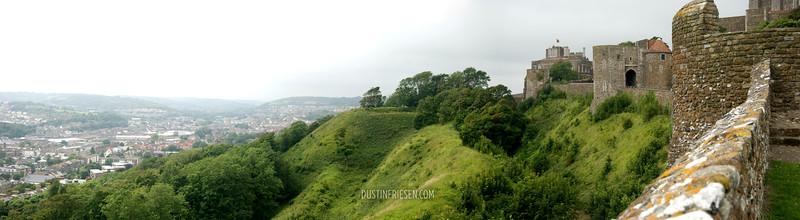 Dover Castle & city