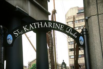 Entrance, St.Katherine's Dock, London