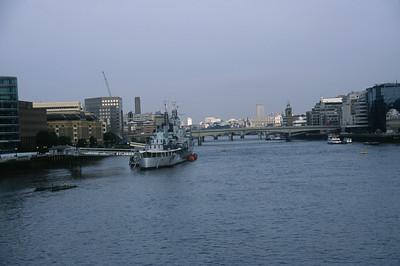 HMS Belfast, British Cruiser