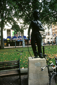 Charlie Chaplin Statue in Leicester Square