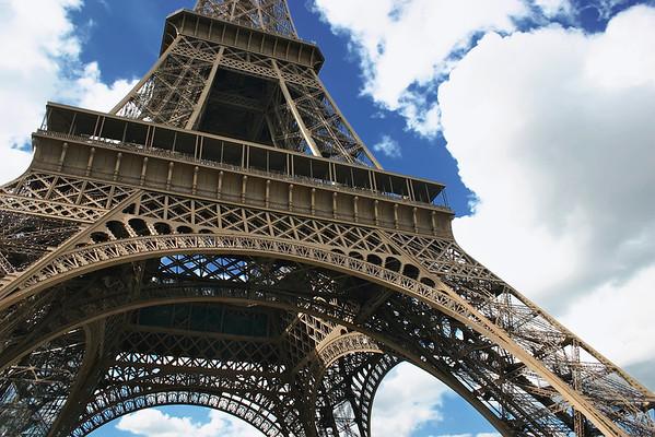 """Eiffel Tower (""""Tour Eiffel"""")- Paris, France"""