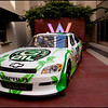 Hit Music Central Promotion party at the W in Hollywood, CA. One of the sponsors owned a NASCAR team and had this vehicle brought to the party. I was sent as the Social Media Photographer by BMG