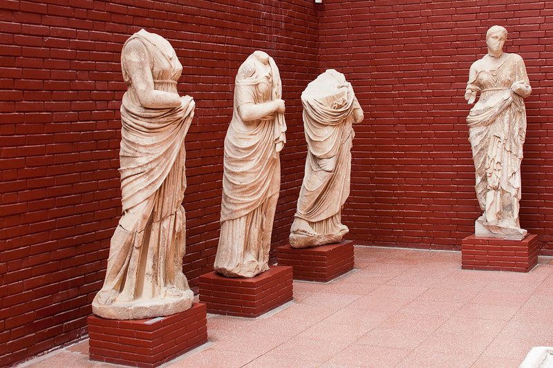 Inside the Ephesus museum