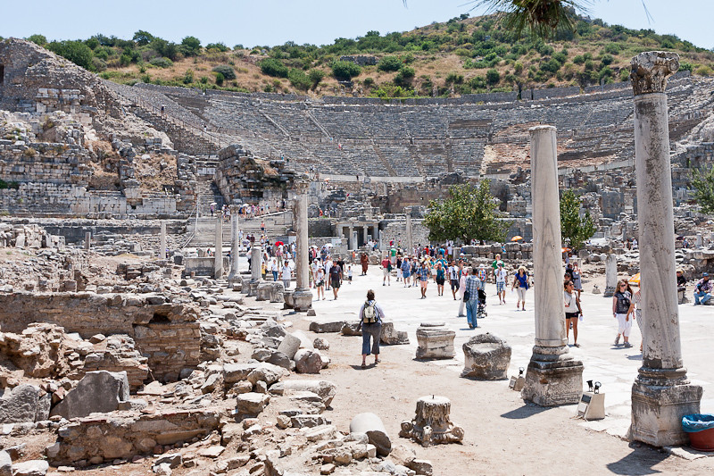 Curetes Street (the main street in Ephesus)