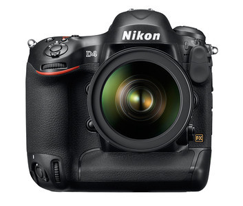 Brand new Nikon D4 SLR.  This new flagship offers speed and accuracy with a 16.2 MP FX-format CMOS sensor, 10 fps continuous shooting, a 91,000-Pixel RGB sensor and Advanced SRS, improved 51 point AF System, ISO expanded to 204,800 and 1080p video at 30p with stereo sound.  Wow!!