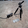 New travel tripod and pano adapter plate