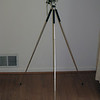 Tripod extended, about 40""