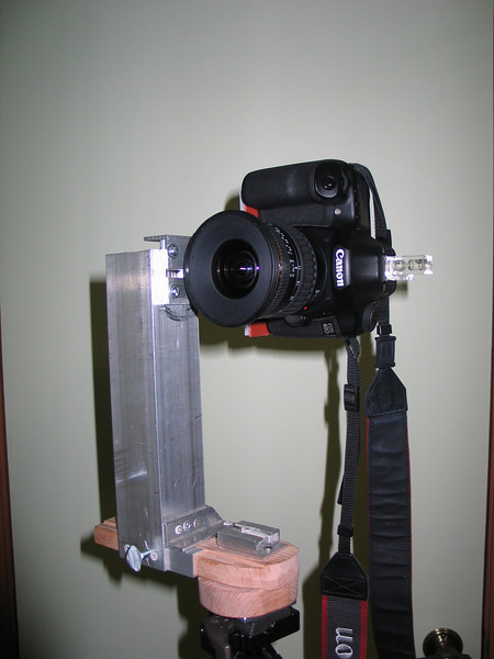 Pano bracket with Canon 40D and Tamron 11-18mm lens.