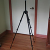 Manfrotto 715SHB tripod. Finally, I found a two pound tripod that can hold a 5 pound camera.