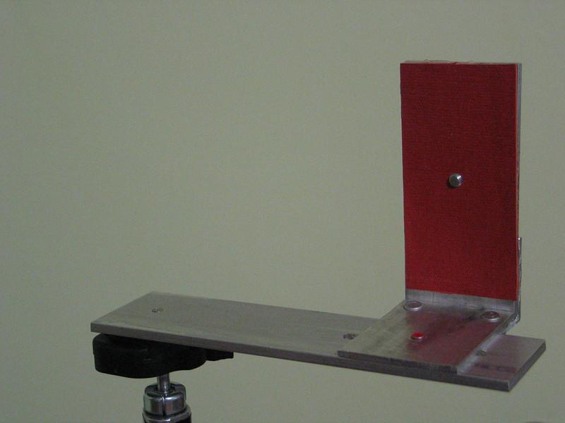 Light weight bracket for vertical panoramas