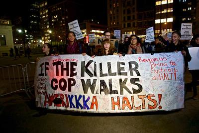 Eric Garner / Ferguson Protest Union Square Dec 4