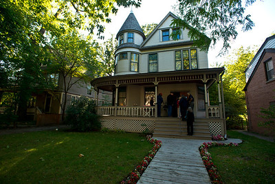 North America, USA, Illinois, Oak Park, birth home of Ernest Hemmingway