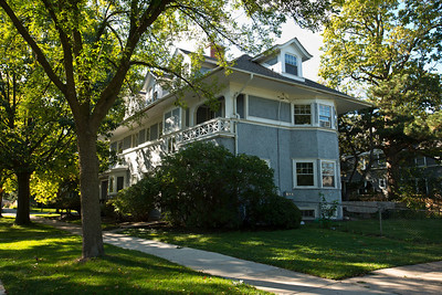North America, USA, Illinois, Oak Park, Hemmingway Boyhood  Home