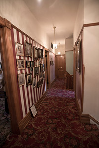North America, USA, Illinois, Oak Park, Upstairs Hallway of  Ernest Hemmingway Birth House
