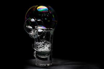 essai bulles de  savon