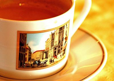 Cappucino cup © Faye Leslie