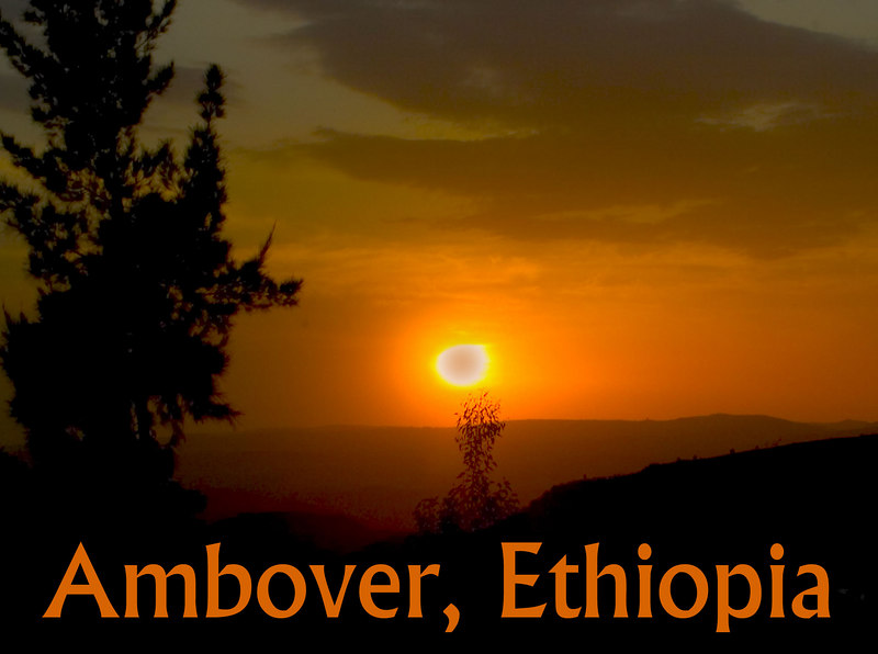 Sunset as Viewed from the formerly Jewish Village of Ambover, Ethioia
