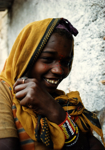 Woman in Harar, Eastern Ethiopia
