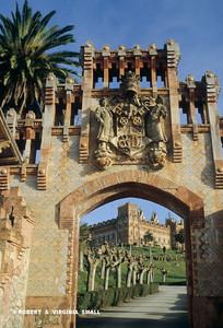 UNIVERSITY GATES, SPAIN