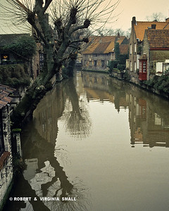 HOMES ON A CANAL- BELGIUM