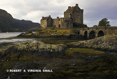 CASTLE ON TIDAL FLATS - SCOTLAND