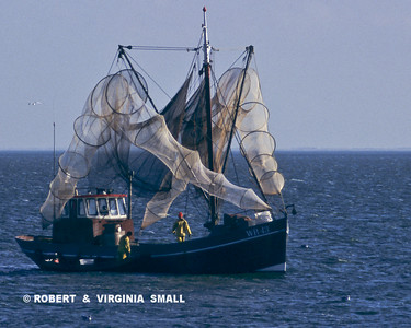 TRAWLER WITH NETS, HOLLAND