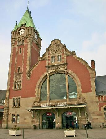 Colmar, France train station