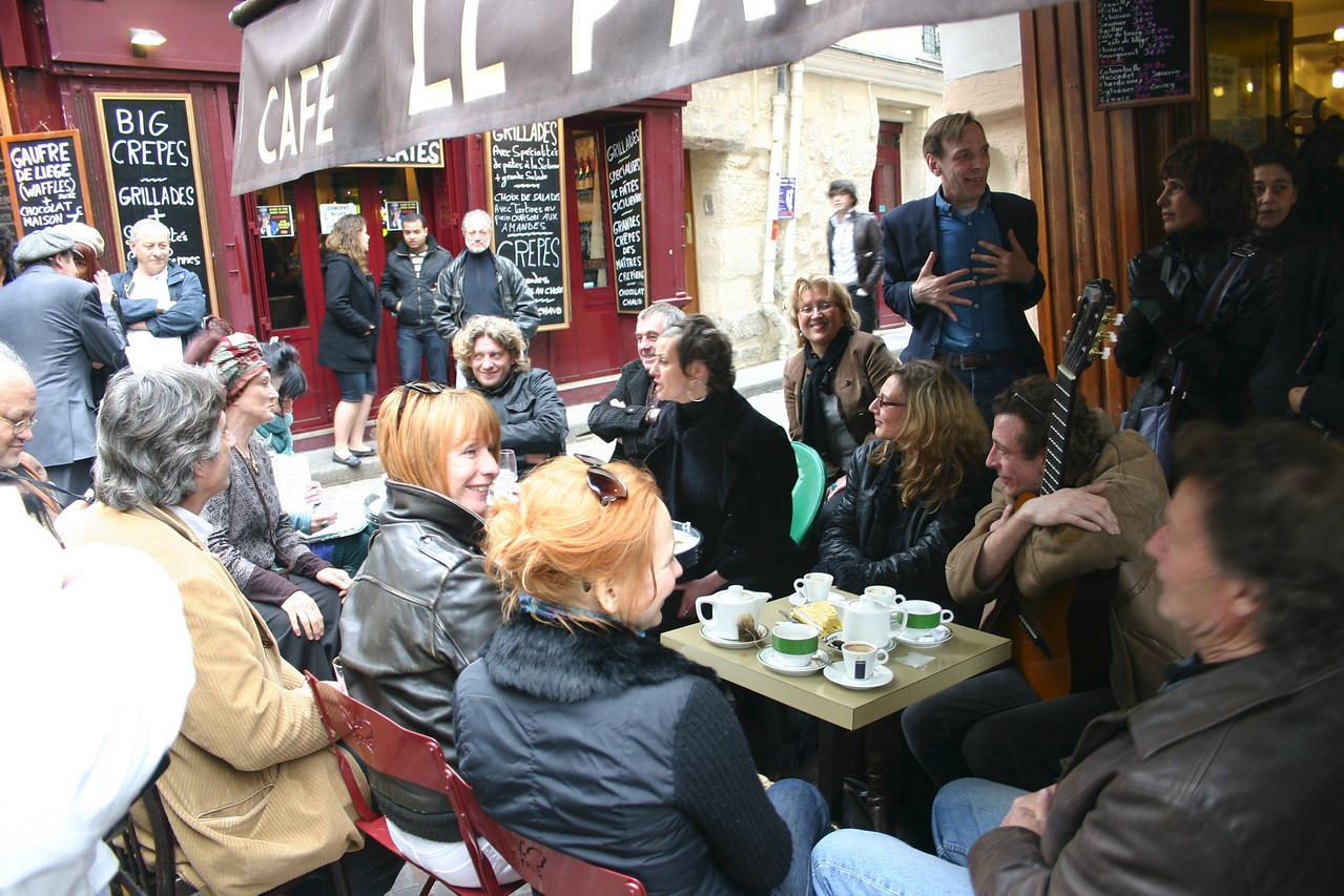 Parisian chansons- Rue Mouffetard