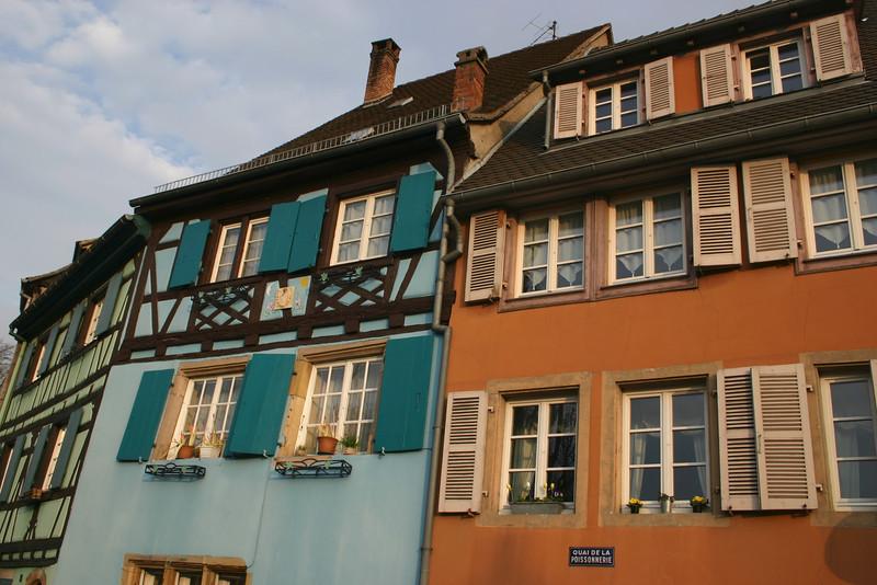 Colmar, France colorful windows!