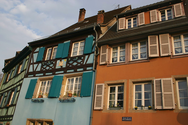 Colmar, France colorful windows!