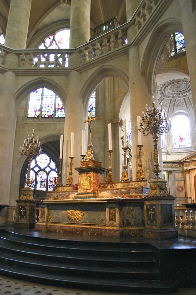 Saint-Etienne Du Mont church