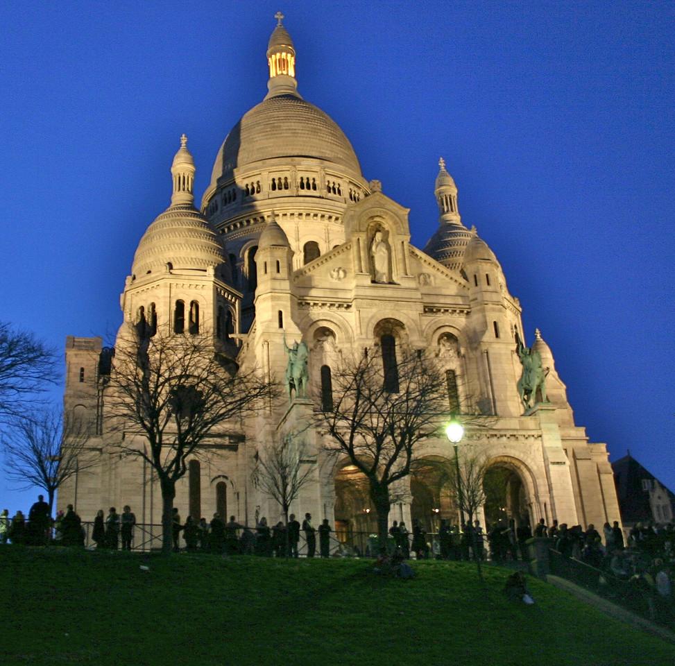 Sacre-Coeur at sunset
