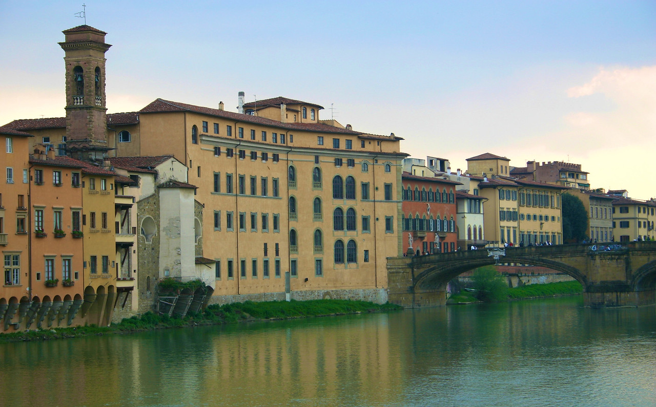 Florence along the River Arno