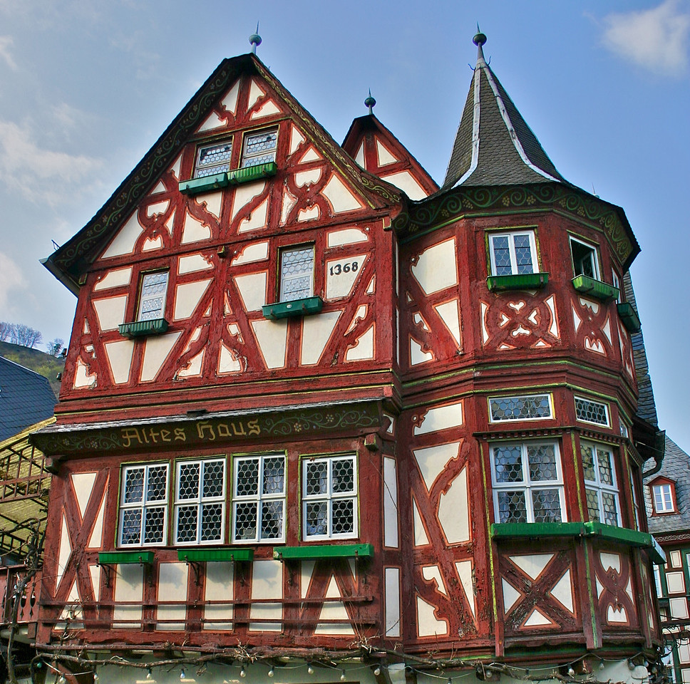 Altes Haus- Bacharach built in 1368!