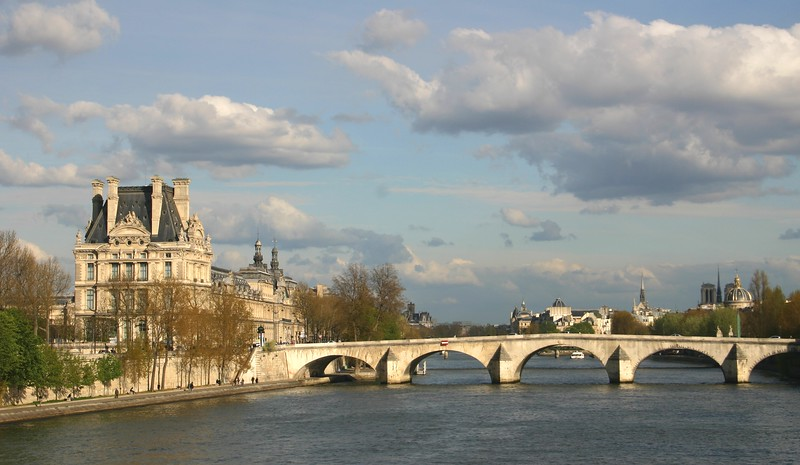 View from Pont Royal- Paris